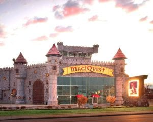 pigeon forge castle